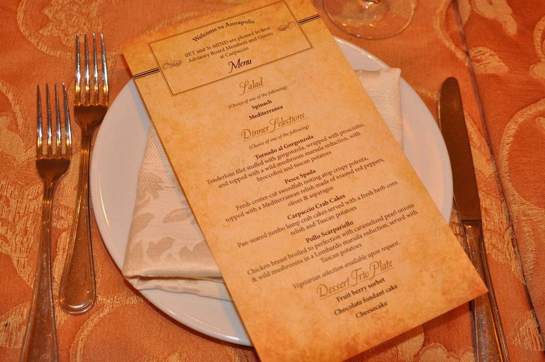 Advisory Board Dinner